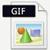 GIF fileformat ikon